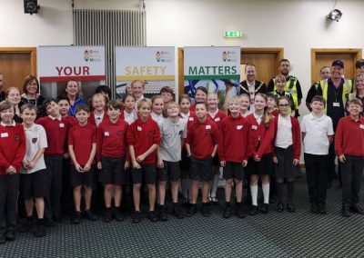 VIP Day - Goostrey Community Primary School with the Mayor of Crewe, Cllr Benn Minshall - 2